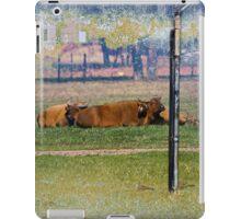 Dwarf Forest Buffalo iPad Case/Skin