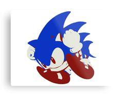Minimalist Sonic 5 Metal Print