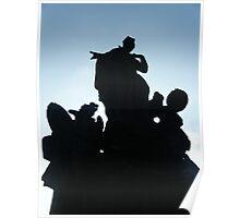 Czech Silhouette Poster