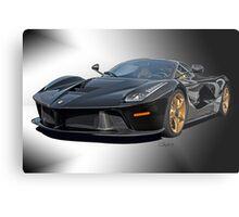 2014 Ferrari 'LaFerrari' Studio I Metal Print