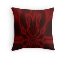 Crimson Flare Throw Pillow