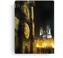Czech Churches or Disney Castles? Canvas Print