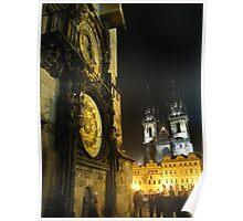 Czech Churches or Disney Castles? Poster