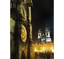 Czech Churches or Disney Castles? Photographic Print