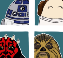 Star Wars Tiggle Profile Sticker