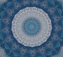Blue Rose by Ostara