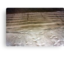 Shapes in the Sand Canvas Print