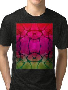 Kalidescope Tap 3  Tri-blend T-Shirt