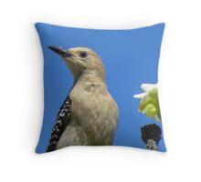 Gila  Woodpecker Ma- Ma Throw Pillow