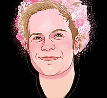 Patrick flower crown  by spencejsmith
