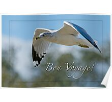 Bon Voyage Greetings Poster