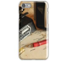 Tools of the trade iPhone Case/Skin