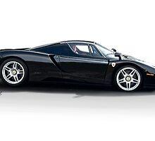 2002 Ferrari 'Enzo' Studio Profile by DaveKoontz