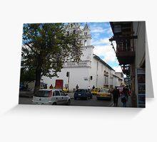 Cuenca, Ecuador Greeting Card