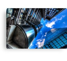 Lloyd's of London and Cheese Grater Canvas Print
