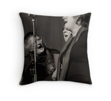Mayday Singers Throw Pillow