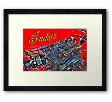Indian 101 Scout 1928 Framed Print