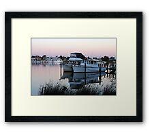 Raymond Island Pier Framed Print