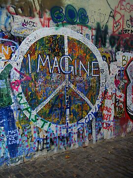 Prague&#x27;s John Lennon Wall by Hallie Duesenberg