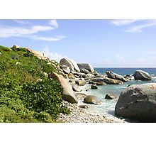 The Rocky Baths Beach Photographic Print