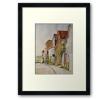 A lane in Rye - East Sussex Framed Print