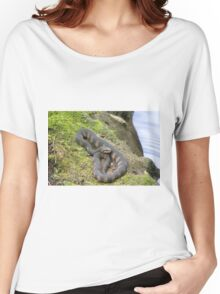 Snake on a Log Women's Relaxed Fit T-Shirt