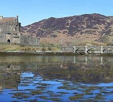 Eilean Donan Castle - Panorama by Maria Gaellman
