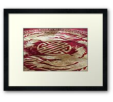 Inside the Presidential Palace III - Ho Chi Minh City, Vietnam. Framed Print