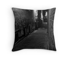 Echoes In The Dark Throw Pillow