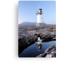 Rhue Lighthouse Canvas Print