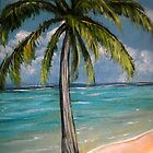 Palm Tree by Pamela Plante