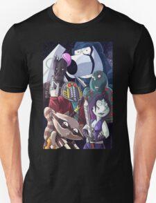 Family guy- Space scene Unisex T-Shirt