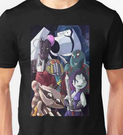 Family guy- Space scene Unisex T-Shirt