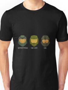 Halo - Spartans never die. Unisex T-Shirt