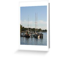 Pier on Raymond Island Greeting Card