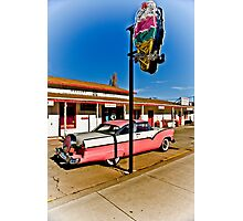 Route 66 Williams Arizona Cruisers Welcome Photographic Print
