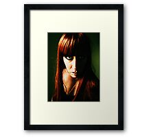 Blue in Green, no. 3 Framed Print