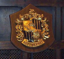 Hufflepuff Crest  by clarebearhh