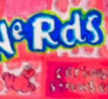 Strawberry Nerds Sticker