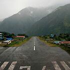 Lukla Airport by Richard Heath