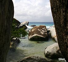 The Baths beach Virgin Gorda by DARRIN ALDRIDGE