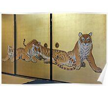 Tea Room Cats Poster
