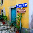 Stairway To Ristorante by Jack DiMaio
