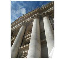 Vatican Columns Poster
