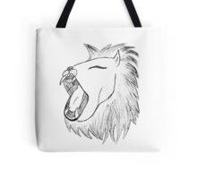 Lion Scream Tote Bag