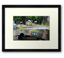 US Air Force Aircraft - Ho Chi Minh City, Vietnam. Framed Print