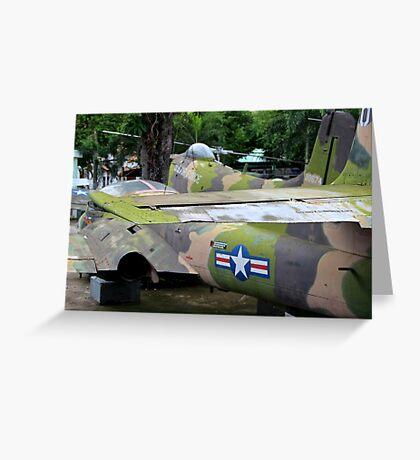 US Air Force Aircraft - Ho Chi Minh City, Vietnam. Greeting Card
