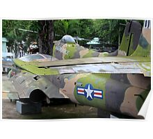 US Air Force Aircraft - Ho Chi Minh City, Vietnam. Poster