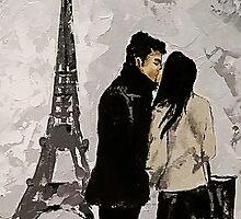 Amour à Paris by Violeta Oprea