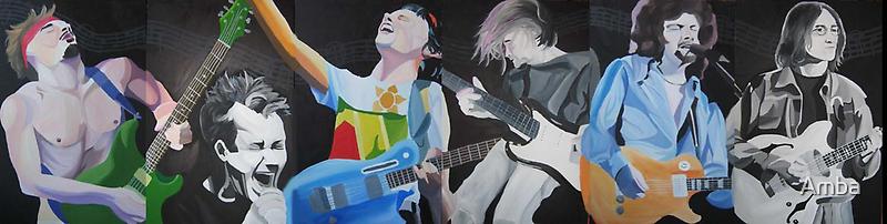 Musician Mural by Amba